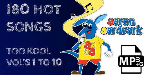 VOL'S 01 TO 10 - AARON'S TOO KOOL POPULAR HITS