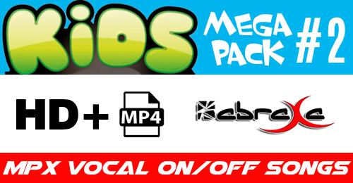 KIDS MEGA PACK 2 - ABRAXA