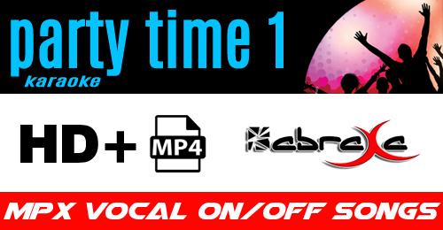 KARAOKE PARTY TIME #1 - ABRAXA - MS