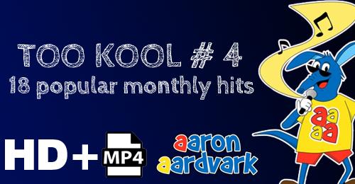 VOL 04 - AARON'S TOO KOOL POPULAR HITS