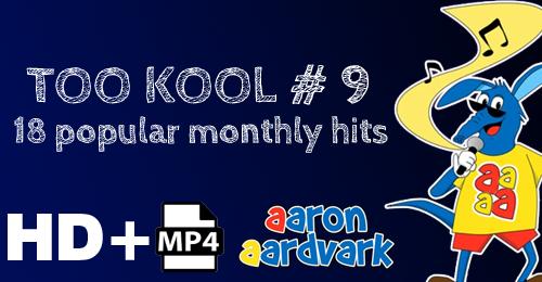 VOL 09 - AARON'S TOO KOOL POPULAR HITS