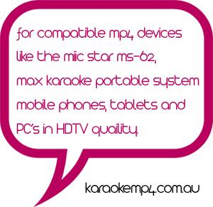 Karaoke Downloads by Picknmix com au