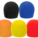 Pack of 5 Coloured Microphone Socks