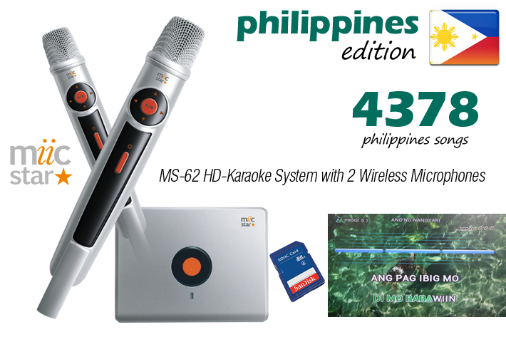 PHILIPPINES EDITION - MIIC STAR MS-62 KARAOKE SYST  - AUD $449.99 by khe.co.nz - 00 613 9557 5110