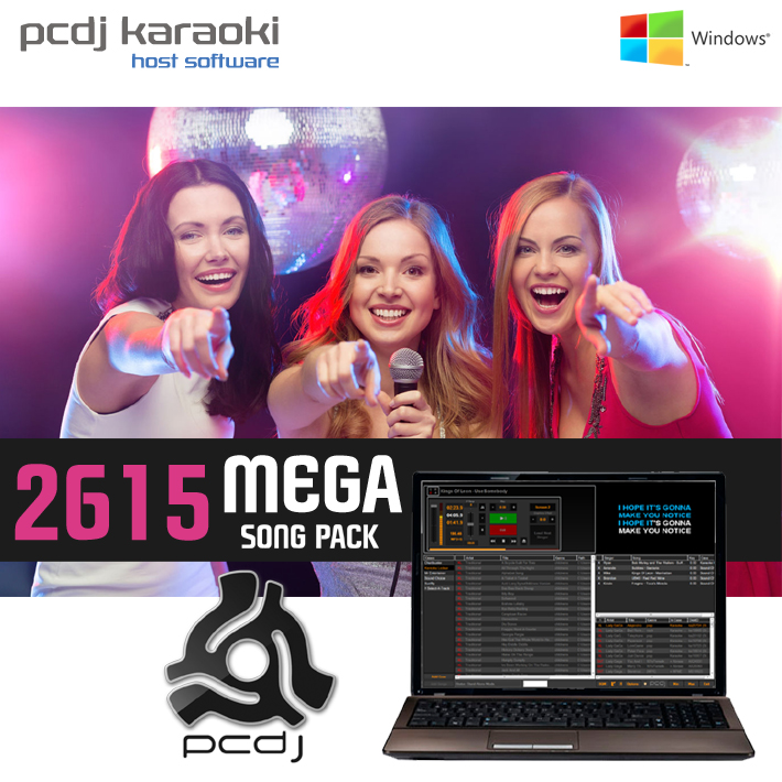 PCDJ KARAOKI + 2615 MEGA SONG PACK  - AUD $3,349.81 by khe.co.nz - 00 613 9557 5110