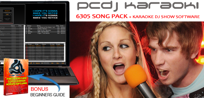 6305 SONG PACK WITH PCDJ KARAOKI  - AUD $1,299.99 by khe.co.nz - 00 613 9557 5110