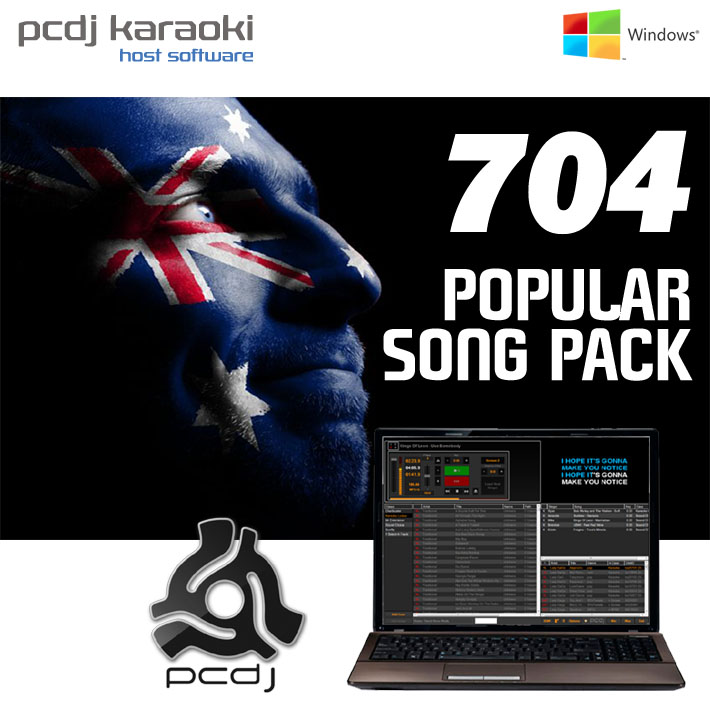 PCDJ KARAOKI + 704 POPULAR SONG PACK  - AUD $1,332.48 by khe.co.nz - 00 613 9557 5110