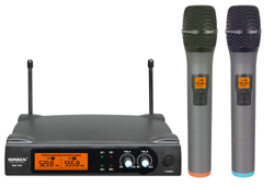 600D PRO WIRELESS MICROPHONES (PAIR) - AUD $169.99 by khe.co.nz - 00 613 9557 5110 - Click to view item.