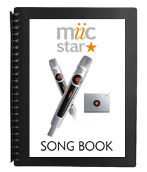 PRINTED SONG BOOK FOLDER - MIIC STAR - AUD $24.99 by khe.co.nz - 00 613 9557 5110 - Click to view item.